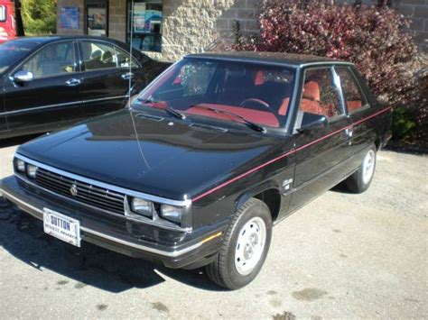 1986 renault alliance 1986 renault alliance information and photos momentcar