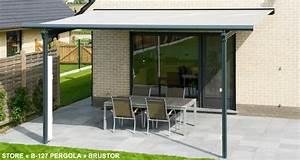 Store Banne Sur Pied : pergola 7m x 4m ma pergola ~ Premium-room.com Idées de Décoration
