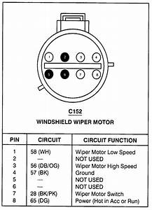 1998 Lincoln Windshield Wipers Wiring Diagram