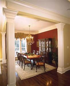 dining rooms with columns room ornament With house and home dining rooms