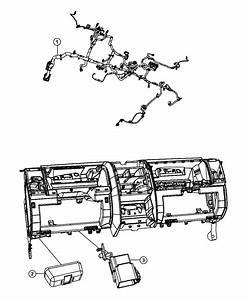 2010 Dodge Grand Caravan Cover  Wiring Protector  Export