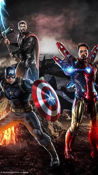 Avengers Endgame Thor Captain Iphone Wallpapers Tony