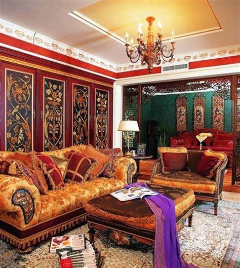 oriental interior decorating ideas bringing exotic chic  modern room decor