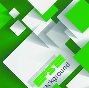 Free Green and White Abstract Squares Background Vector ...