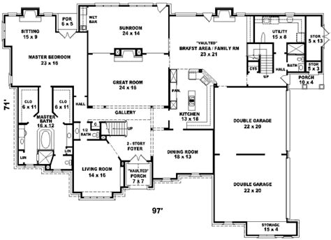 Six Bedroom House Plans by 18 Simple Six Bedroom Floor Plans Ideas Photo House Plans