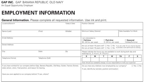 navy job application  apply  printable