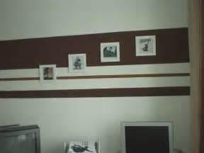 ideen für wandgestaltung mit farbe - Wandgestaltung Mit Farbe Streifen Schlafzimmer