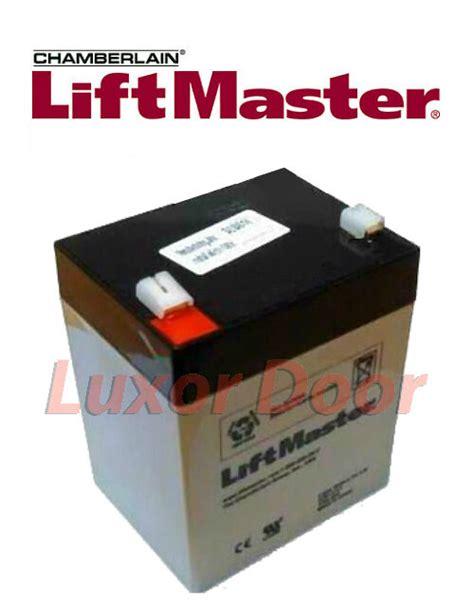 garage door battery backup new liftmaster 485lm battery backup for garage door