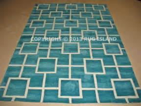 Yellow Area Rugs Contemporary by 8x10 Thick Contemporary Modern Geometric Aqua Teal Blue