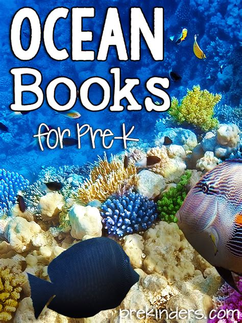 Books About Ocean Animals for Pre-K - PreKinders
