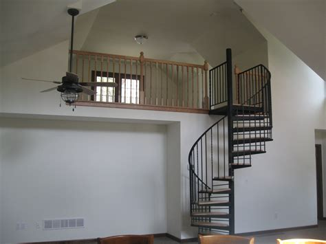 spiral staircase for loft spiral staircase to loft rustic decor pinterest