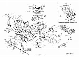 Dixon Ztr 311  1986  Parts Diagram For Chassis Assembly