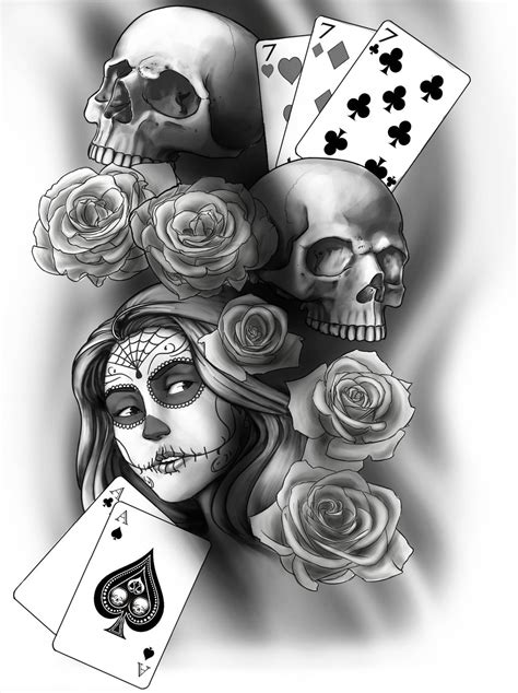 Best Day Of The Dead Tattoos Ideas And Images On Bing Find What