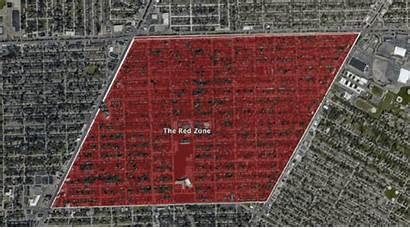 Zone Mile Bloods Detroit Redzone Gang Seven