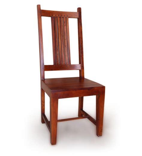 sheesham wood simplistic dining chair by mudra