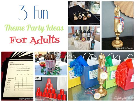 event ideas for adults adult party themed