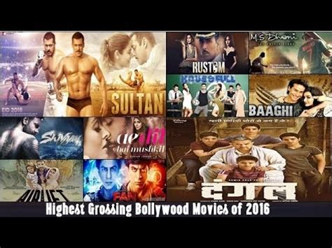 top 10 highest grossing of 2016 based on domestic box office collection