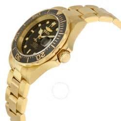 Gold Invicta Pro Diver Automatic Watch