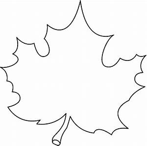 Black And White Autumn Leaf Clip Art (56+)