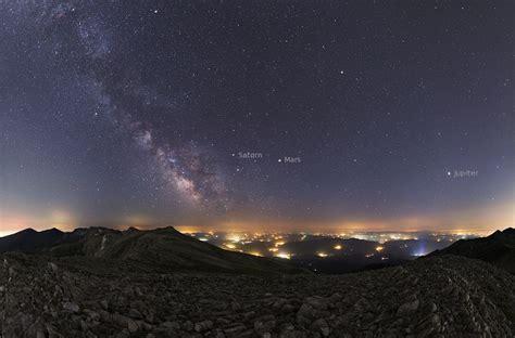 Apod July Summer Planets Milky Way