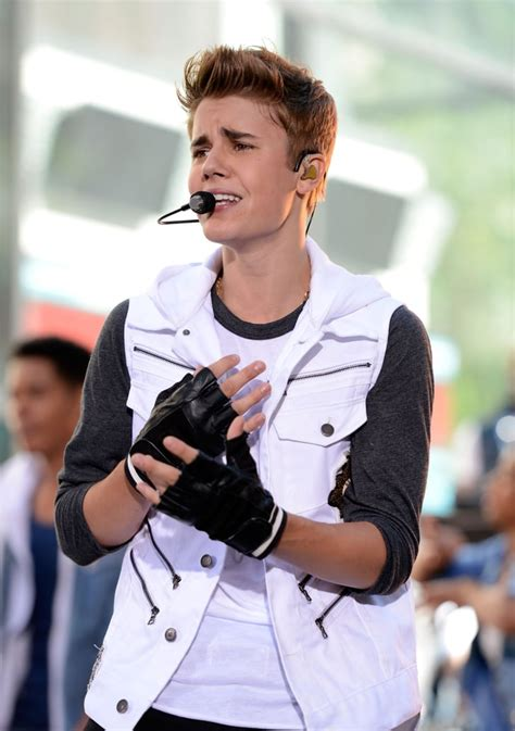 2012 | Pictures of Justin Bieber Over the Years | POPSUGAR ...