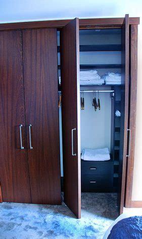 Brandner Design Slab Pivot Closet Doors