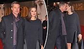 Brad Pitt shows off slimmer frame as he cosies up to ...
