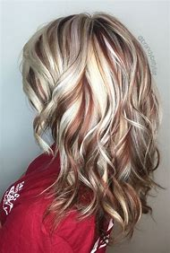 Blonde Hair Color with Highlights