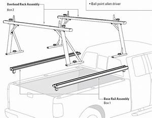 How Do The Tracrac Sliding Ladder Racks Attach To Truck