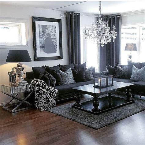 Living Room Furniture Dark Grey Sofas  Curtain