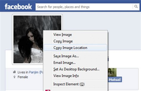 Open Facebook Hack Enlarge Locked Profile Picture How