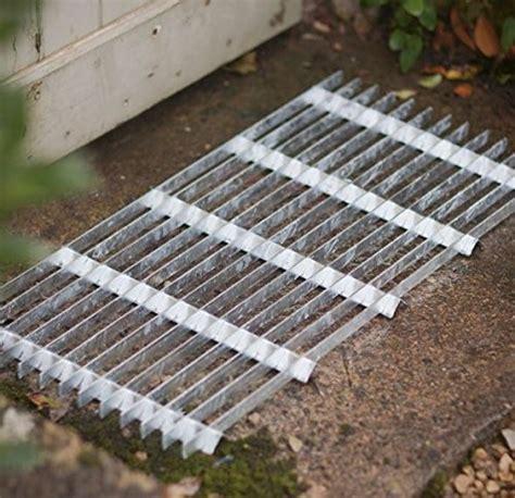 Steel Doormat by Metal Grill Galvanised Steel Doormat Outdoor Garden