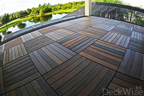 ipe hardwood deck tiles   tile squares deckwise