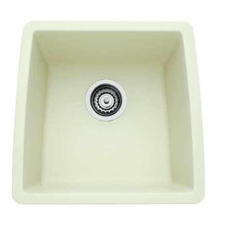 blancoamerica kitchen sinks blanco performa undermount granite composite 17 5 in 0 4789
