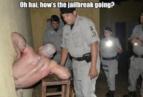 Jailbreak Meme - oh hai how s the jailbreak going oh hai know your meme