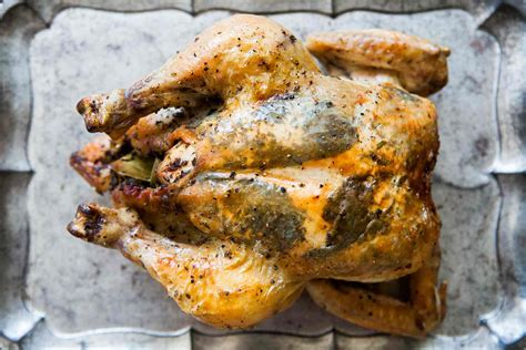 Herb Stuffed Roast Chicken Recipe Simplyrecipescom