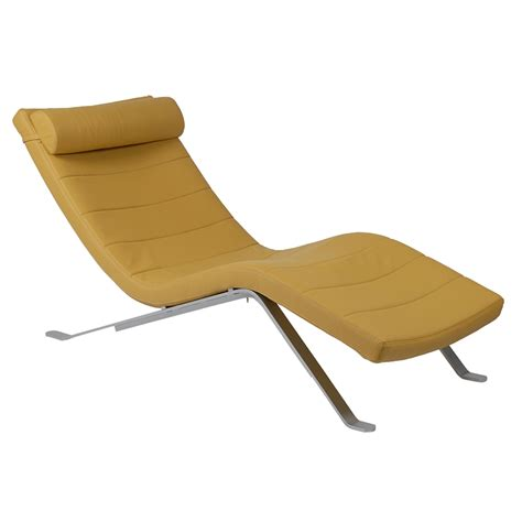chaise bar modern lounger gillian saffron chaise lounge eurway