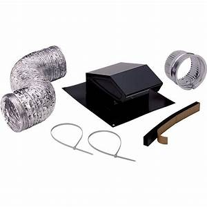 Broan roof vent kit rvk1a the home depot for Cupola vent