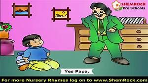 Nursery Rhymes Johnny Johnny Yes Papa Songs with lyrics ...