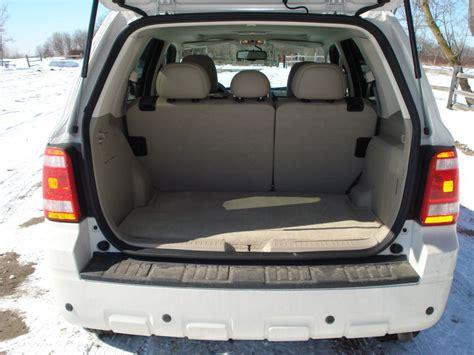 ford escape cargo space  ototrendsnet