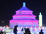 China stages biggest ice sculpture festival in the world ...
