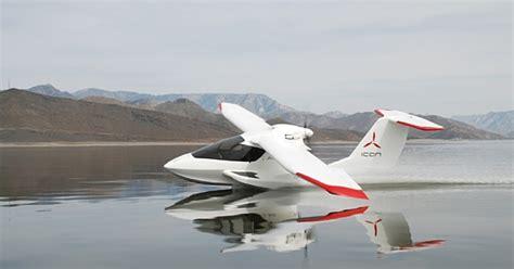 icon  amphibious light sport aircraft   private