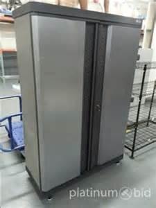 platinum bid auction service coopersville mi 1 kobalt 2 door storage cabinet 14 39