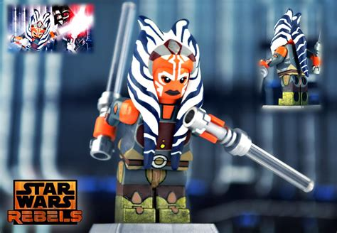 lego wars ahsoka tano as some of you may i m flickr
