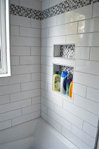 Week 24 Main Bathroom With Subway Tile Shower Finally A