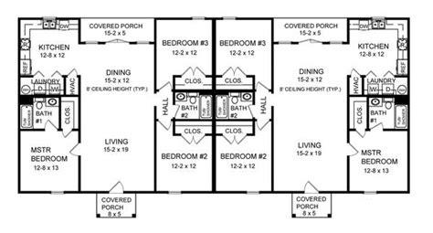 Bedroom Bath Duplex Floor Plans Pictures by Three Bedroom Duplex 7085 3 Bedrooms And 2 5 Baths The