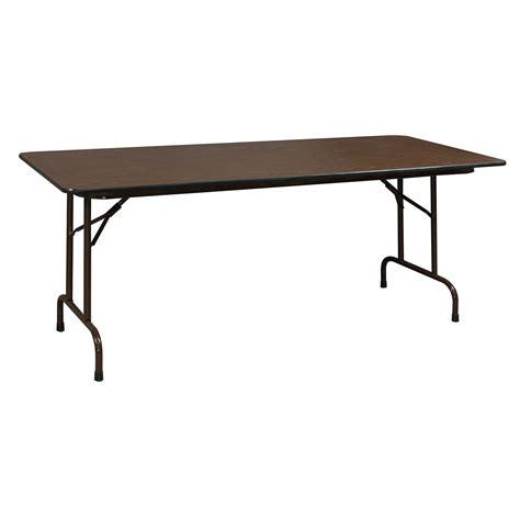 Heavy Duty Used Folding Table 30×72, Walnut  National. Wooden Console Table. Custom Drawer Organizer Strips. Stand Up Corner Desk. Standing Desk. Coffee Table Turns Into Desk. Ergonomic Office Desks. Proform Treadmill Desk. Drawer Units