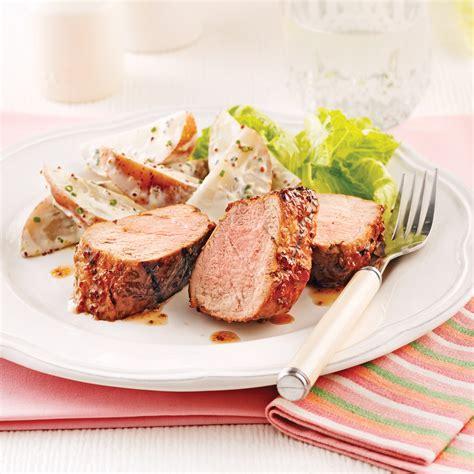 cuisine porc filet de porc laqué au cidre recettes cuisine et