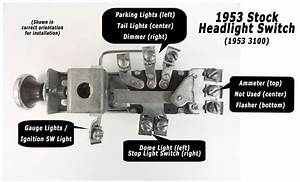 1958 Ford Headlight Switch Wiring Diagram