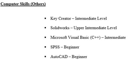 Leisure Interest In Resume by Step By Step Cv Resume Writing Step 3 Computer Skills Interests Hobbies References